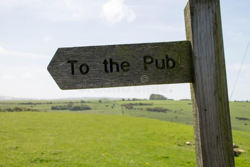 Pub zdjęcie royalty free