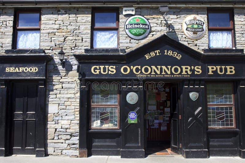 Pub de Connors del ` del Gus O fotos de archivo