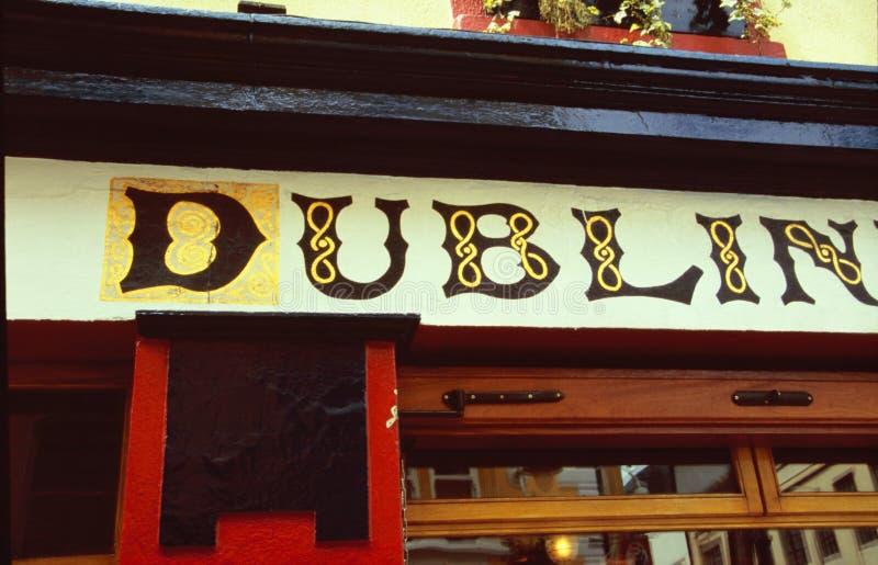 Pub de Dublin fotografia de stock royalty free