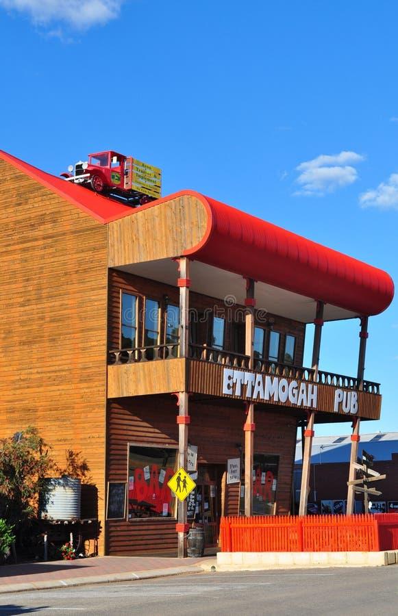 Pub de Ettamogah fotografía de archivo