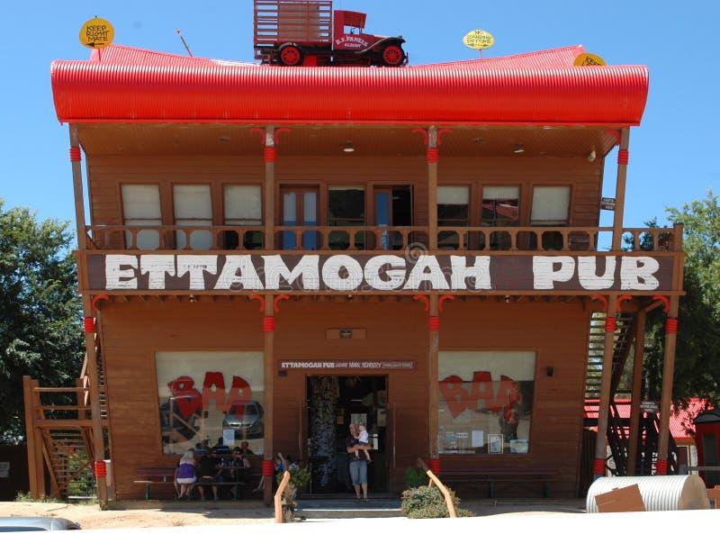 Pub de Ettamogah. imagen de archivo libre de regalías