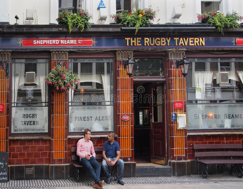 Pub di Londra fotografia stock libera da diritti
