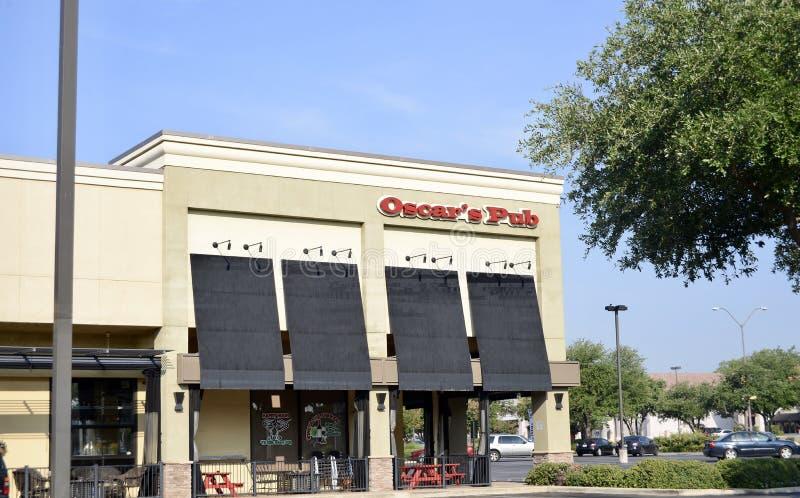 Pub di Oscars, Fort Worth, il Texas fotografia stock