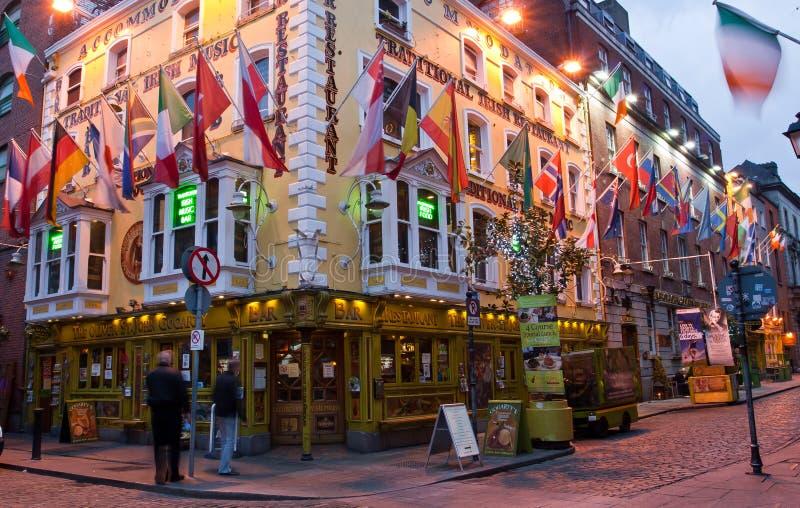 Pub Dublino della st John Gogarty di Oliver immagine stock