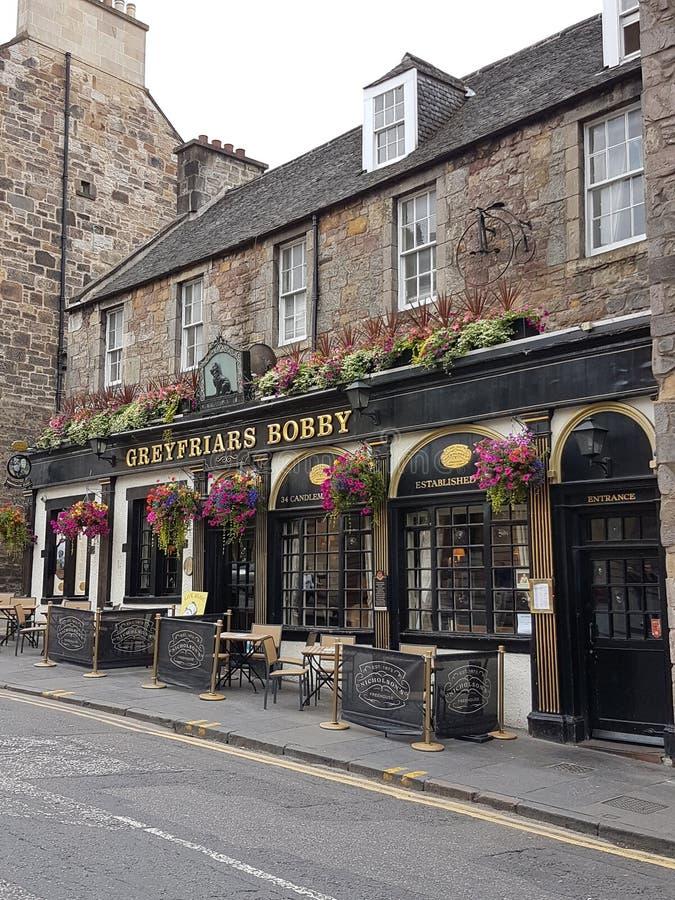 Pub Edimburgo fotos de archivo libres de regalías