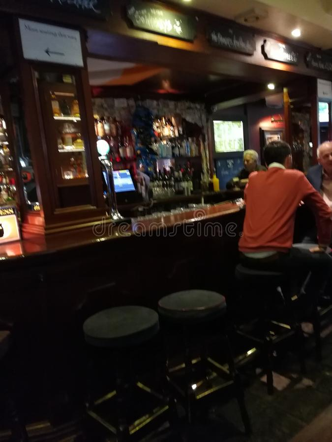 Pub irlandês fotografia de stock royalty free