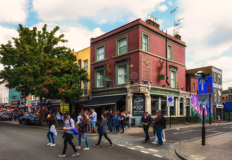 Pub London-Bucks Head foto de archivo