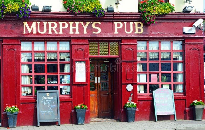 Pub Murphy стоковое изображение rf