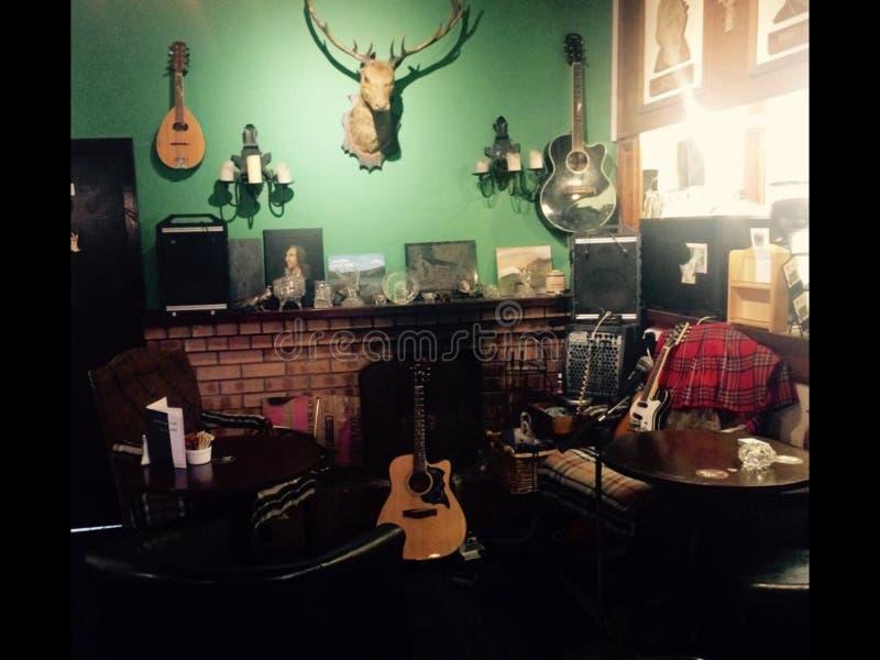 pub scozzese fotografie stock