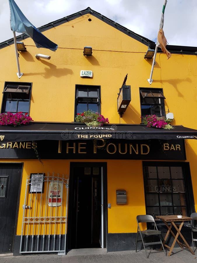 Pub in spade Irlanda fotografia stock libera da diritti