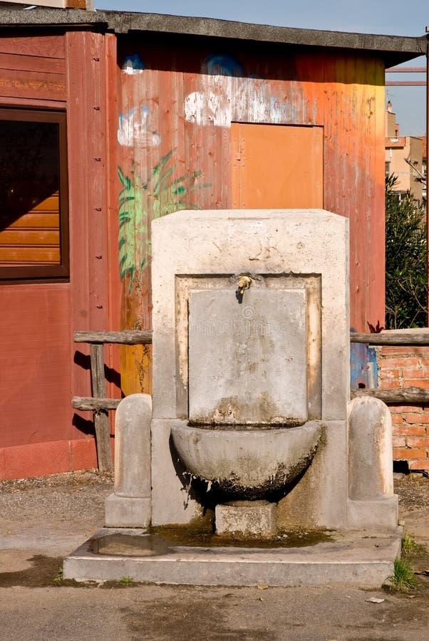 Pubblic Brunnen lizenzfreie stockfotos