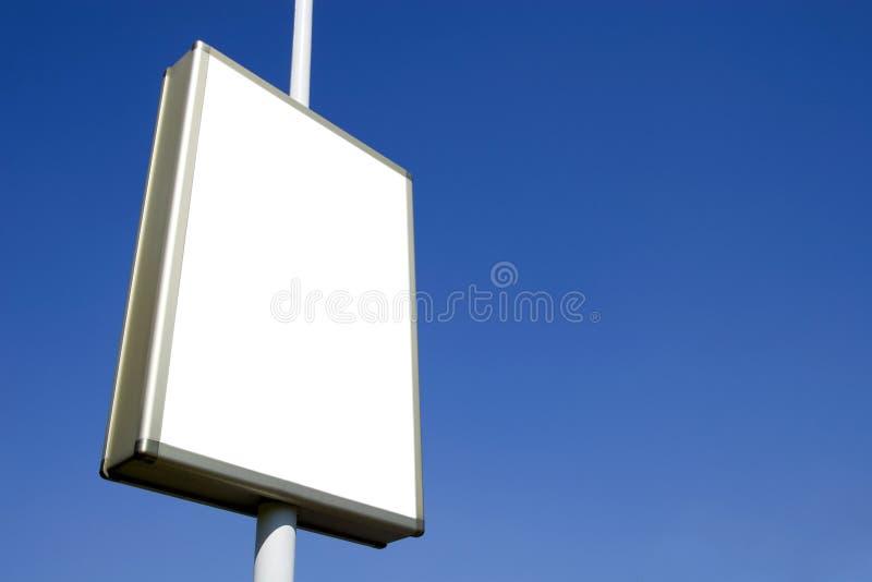 Pubblicità dello spazio in bianco 3 del tabellone per le affissioni immagini stock
