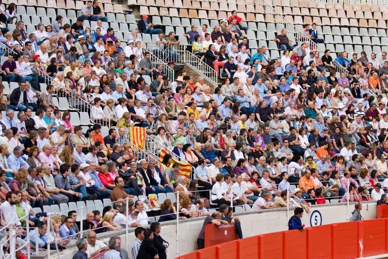 Pubblico Catalan fotografia stock