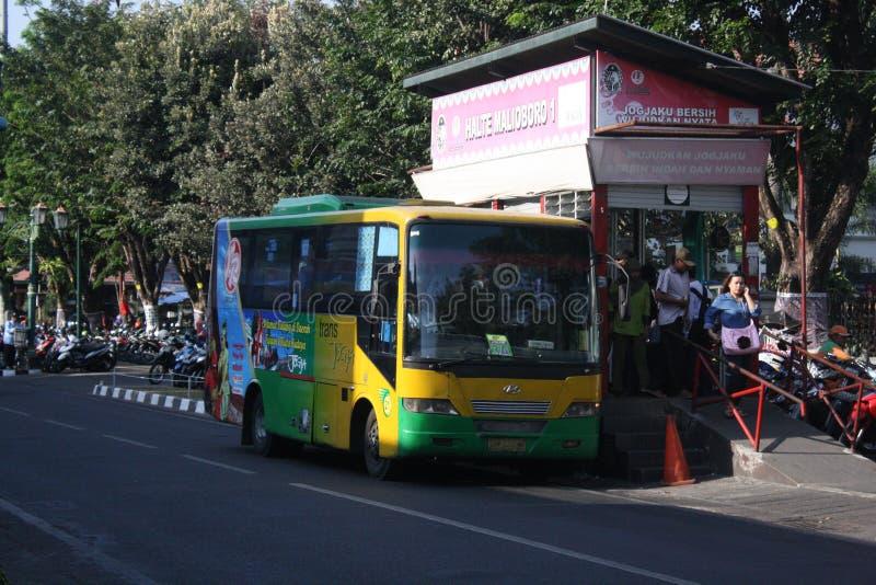 Pubblico indonesiano del trasporto immagine stock