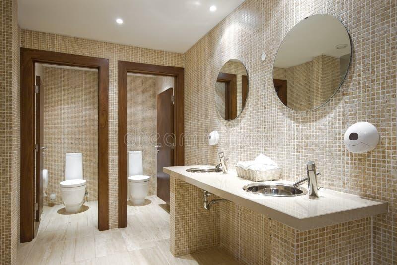 Public bathroom royalty free stock photography
