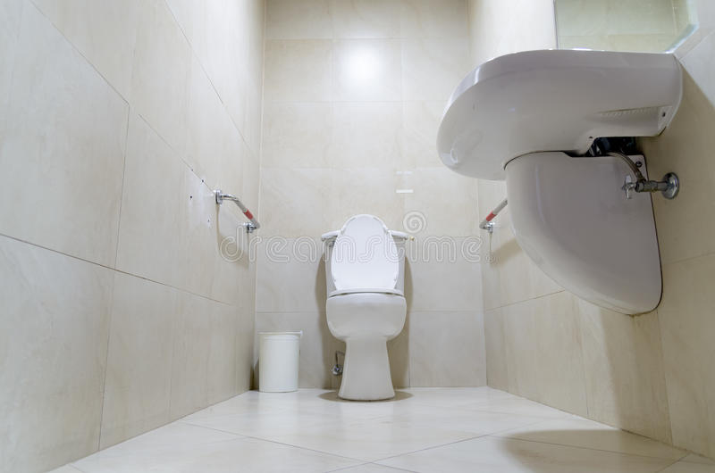 Dirty Toilet At The Airport Stock Image Image Of Single