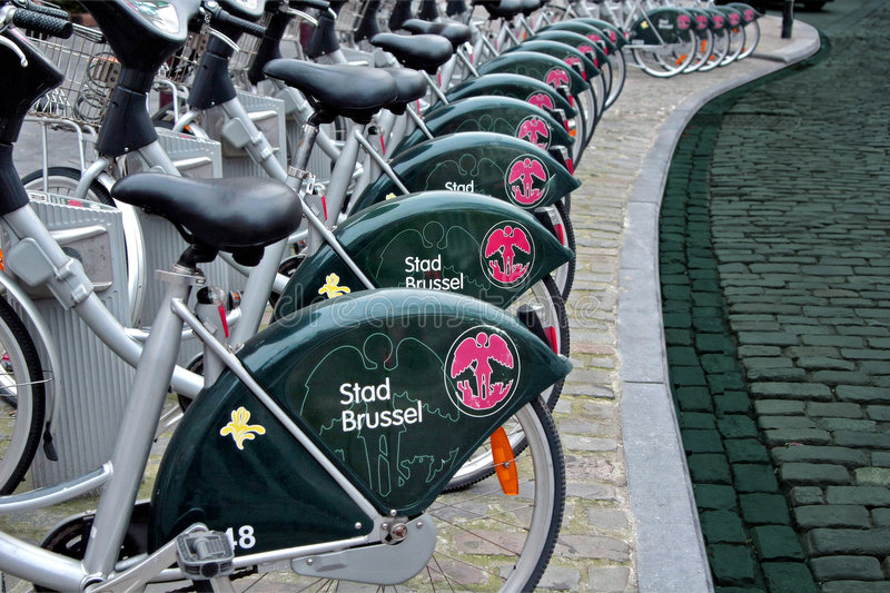 Download Public Bicycles stock photo. Image of transportation, riding - 7681094