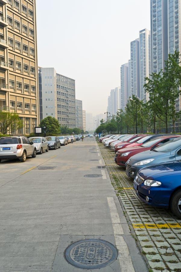 Download Public car park editorial stock image. Image of park - 20082739