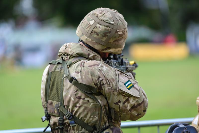 British Army Soldier royalty free stock images