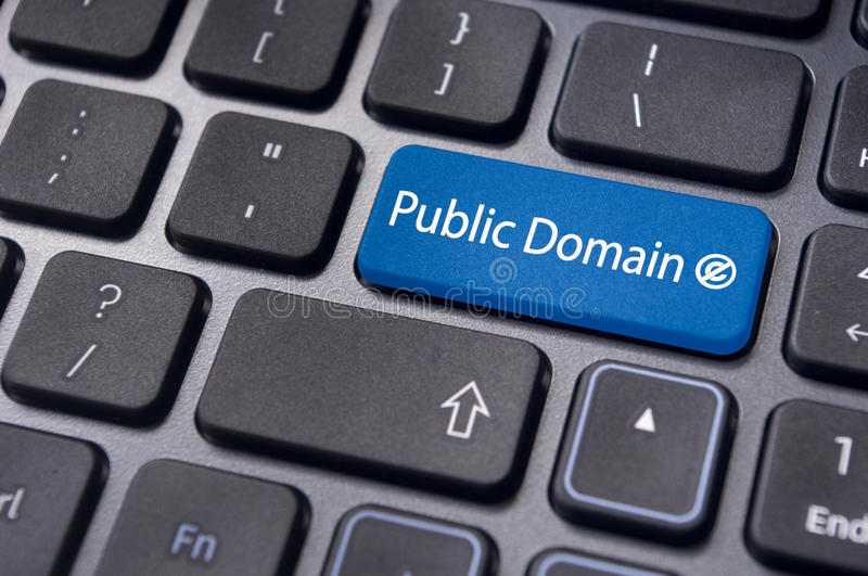 Public domain concepts royalty free stock image