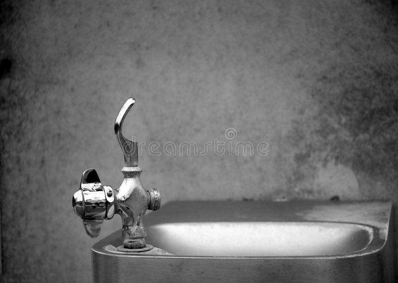 Download Public Drinking Fountain stock photo. Image of turn, metalic - 23600590