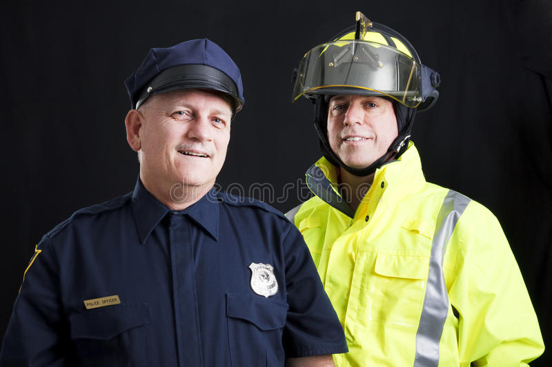 Public Employees Happy royalty free stock photos