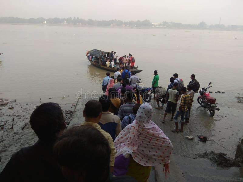 Public Ferry Ghat royalty-vrije stock foto's