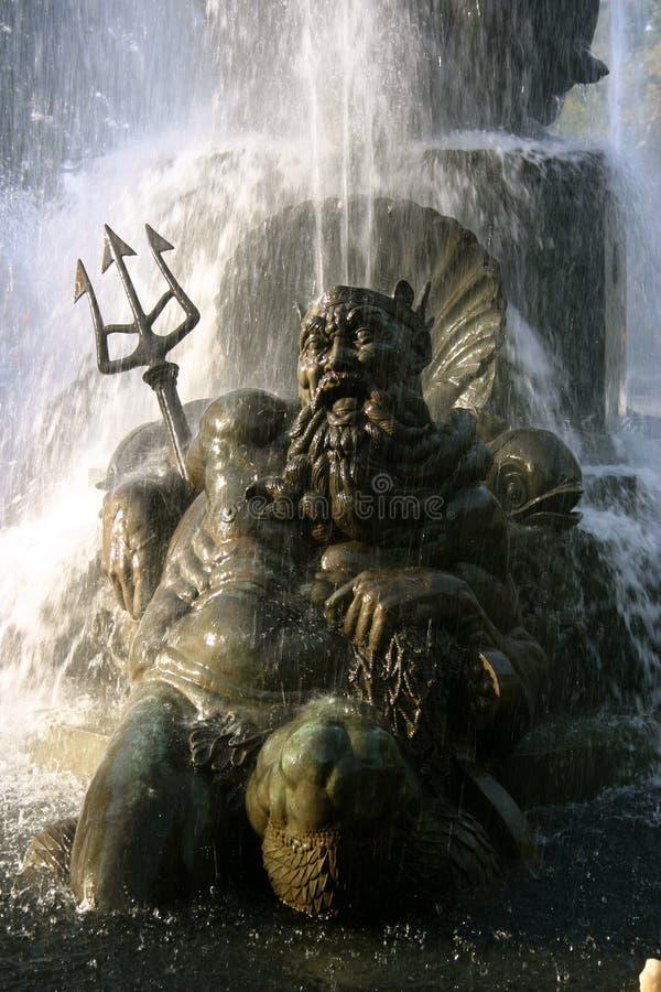 Public Fountain, Brooklyn royalty free stock image