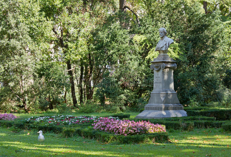 Download In The Public Garden Of Trieste Stock Image - Image: 26735967