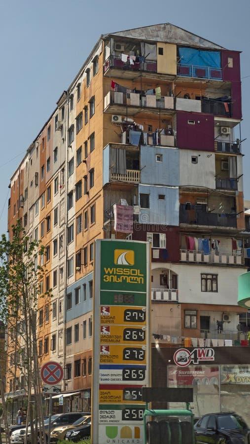 Public Housing in Batumi,Georgia stock photography