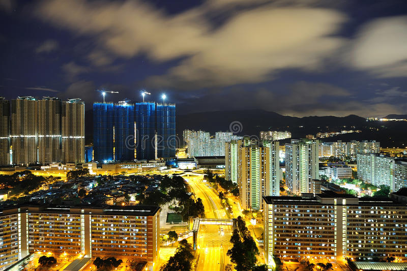 Download Public Housing Night Scenes Royalty Free Stock Photo - Image: 20007705