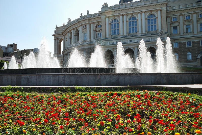 Download Public Opera Theater In Odessa Ukraine Stock Image - Image: 16432581