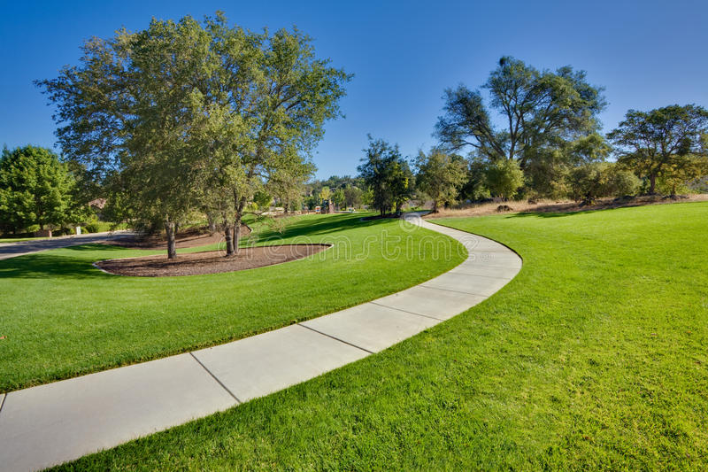 Download Public park stock photo. Image of green, trees, public - 11578492