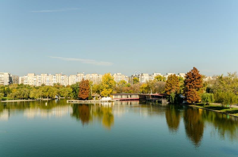 Public Park In Bucharest View stock image