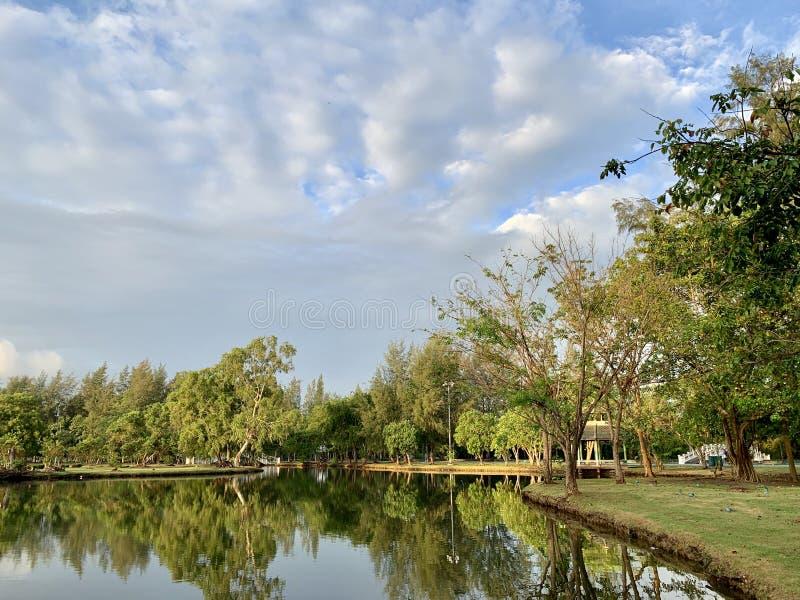 Public park in Thailand. Parks in Thailand (Photos) royalty free stock photos