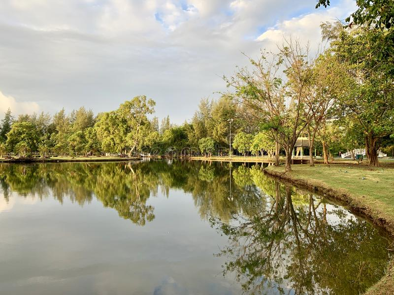Public park in Thailand. Parks in Thailand (Photos) stock images