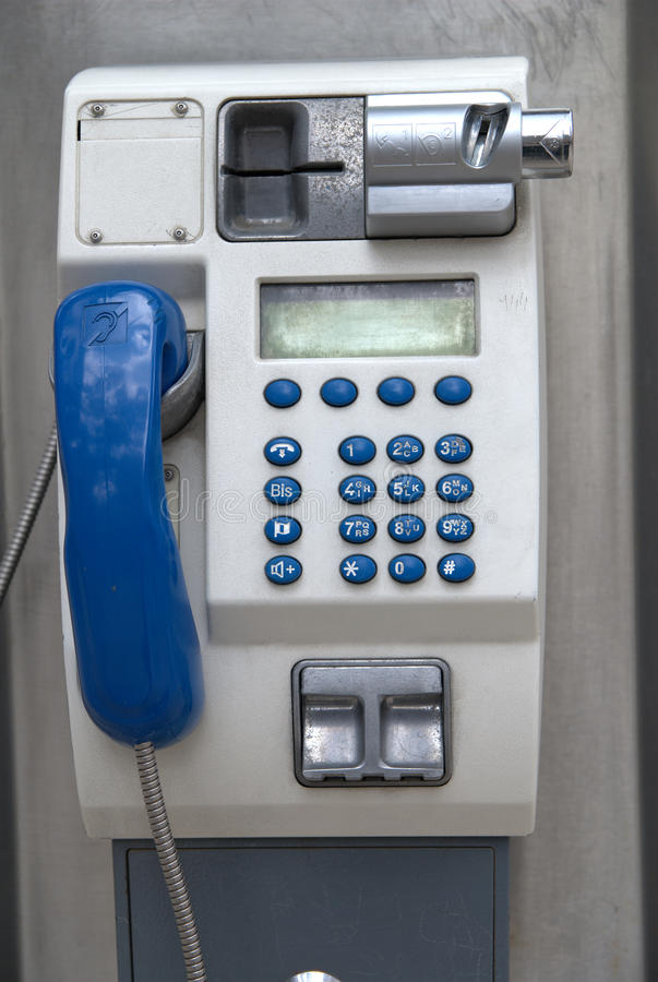 Free Public Phone Royalty Free Stock Photos - 14281778