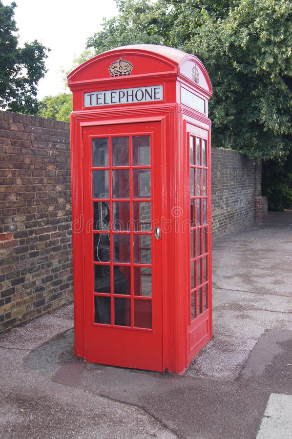 Download Public Phone Box stock image. Image of phone, london - 25989953