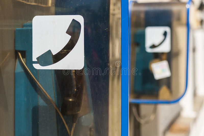 Download Public Phone On The Street. Stock Image - Image: 33391161