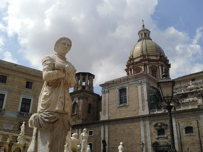 Public sculpture royalty free stock photo