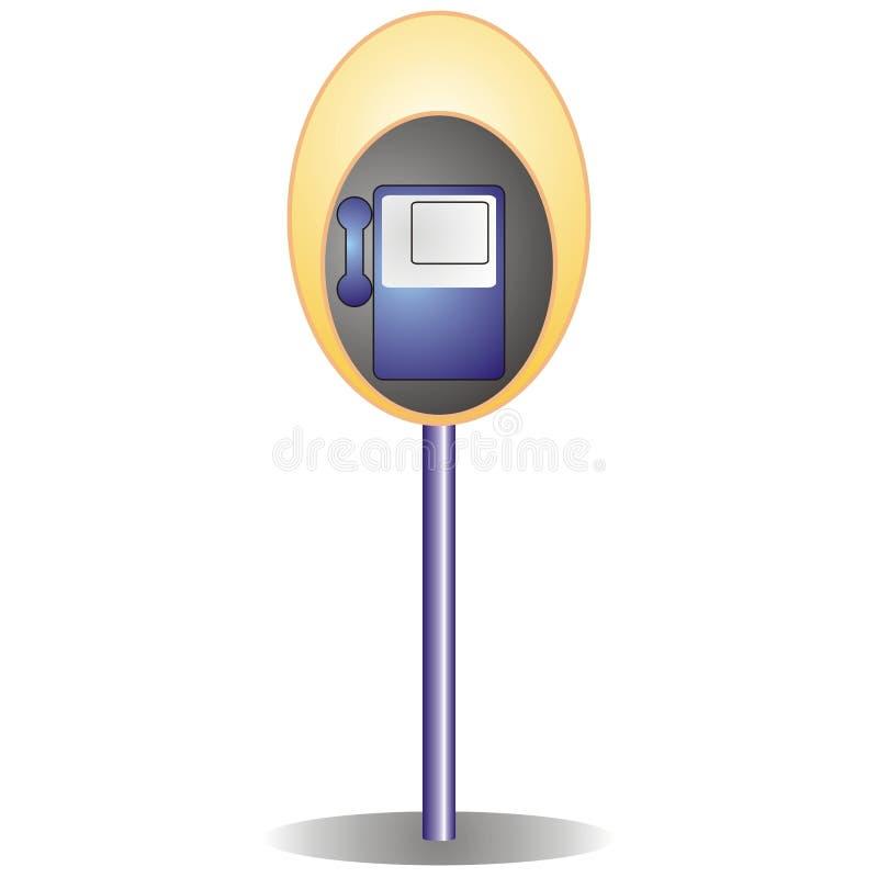 Download Public telephone cabin stock vector. Illustration of figure - 2341616
