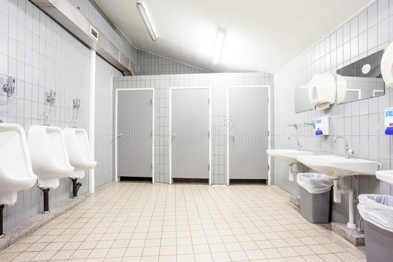 An public toilet. In an public building royalty free stock photos