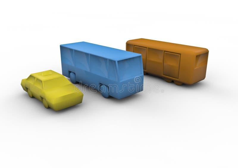 Download Public transport stock illustration. Image of transportation - 19593213