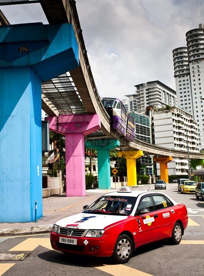 Public Transport At Kuala Lumpur, Malaysia Editorial Image