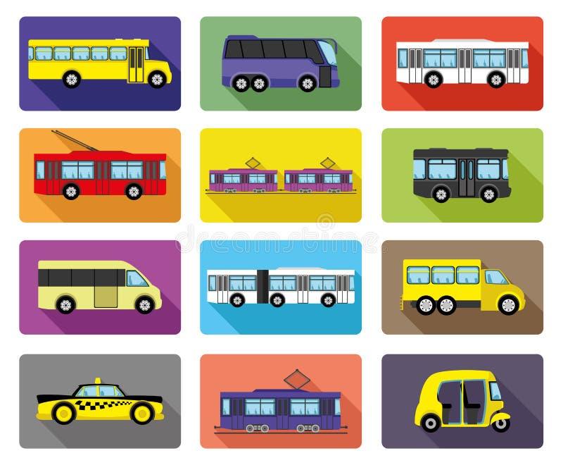 Public transport. vector illustration