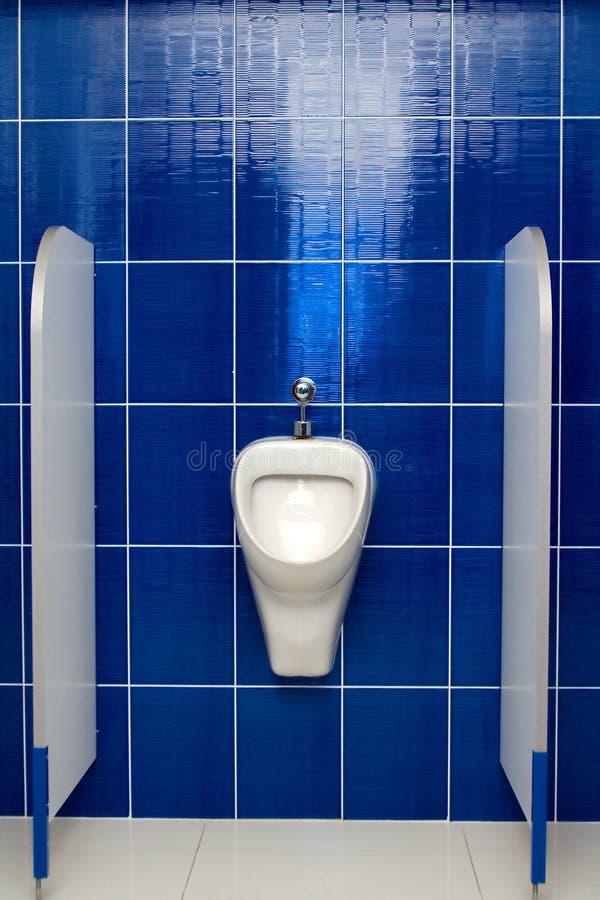 Public urinal stock photo