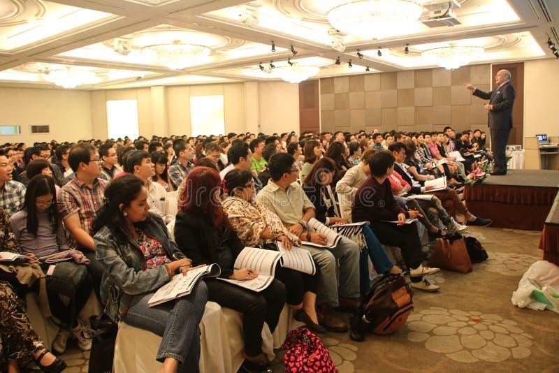 Publiceer een Boek en kweek Rich Seminar stock foto's