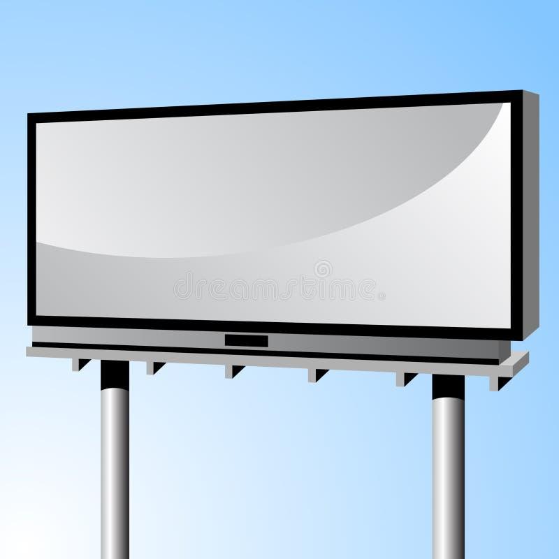 Publicidad de la cartelera ilustración del vector