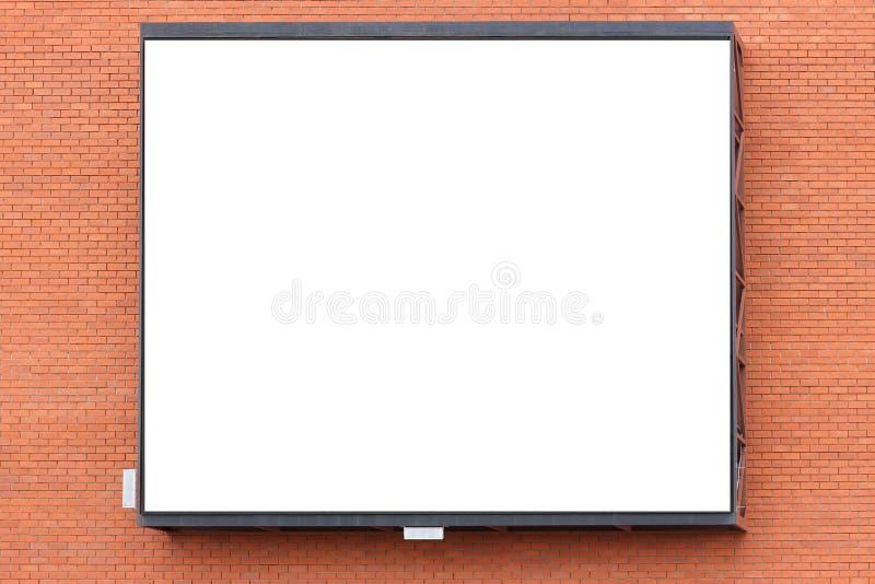 Publicidad de la pared de ejecución grande de la pantalla del edificio fotos de archivo libres de regalías