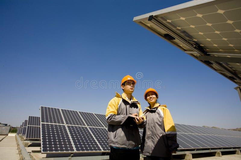 Publicité solaire images stock